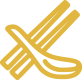 chopstick-spoon-icon-gold